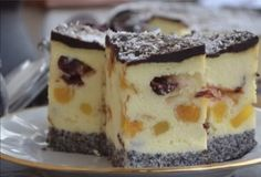 Lemon Cheesecake Recipes, Chocolate Cheesecake Recipes, Ukrainian Recipes, Polish Recipes, No Bake Cake, Food And Drink, Cooking Recipes, Yummy Food, Baking