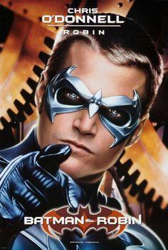 Chris O'Donnel as Robin for Batman & Robin - 1997.