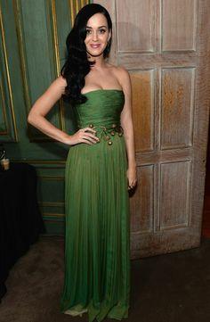 Katy Perry (in Giambattista Valli) at the White House Correspondent's Association Dinner