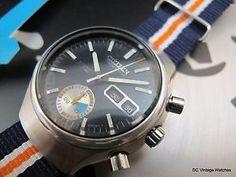 For Sale: All Original 1973 Citizen 8110 Automatic Chronograph, w/@cwsynergy NATO Strap