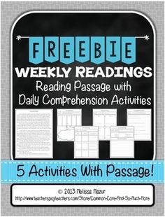Close Reading Strategies Freebie