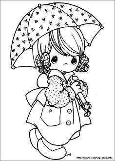 288 Best Printable Images Precious Moments Images Coloring Books