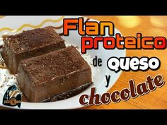 Flan Proteico de Chocolate y Queso – Fitlicioso Flan, Healthy Snacks, Healthy Recipes, Deli, Fitness, Stevia, Desserts, Chocolate Protein, Cream Cheeses