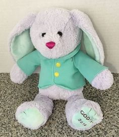 Godiva Chocolates Gund Bunny Rabbit 2016 Limited Edition HTF Easter Bunny Plush #GUND
