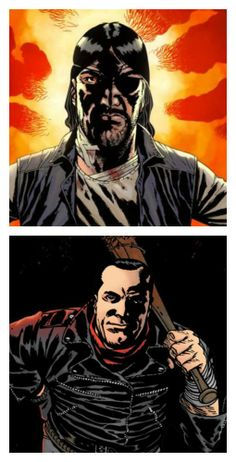 The Governor  and Negan