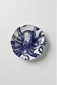 Octopus from the Deep Dinnerware - LOVE