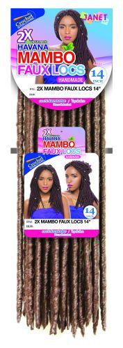 "Janet 2X Havana Mambo Faux Locs 14"""