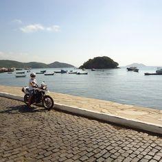 Just a ride at Orla Bardot.... #motorcycle #motorcycletour #orlabardot #buzios by me