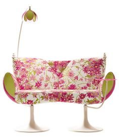 Love pink, lime and white!