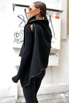 Black Cashmere Sleevless Top / Beautiful coat / Cashmere Vest