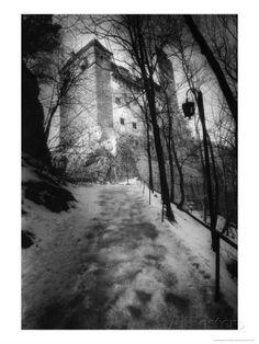 Bran Castle, Transylvania, Romania Giclee Print by Simon Marsden at AllPosters.com