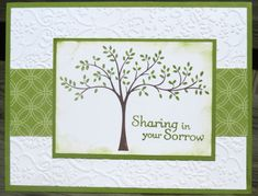 Thoughts and Prayers  Stampin' Up