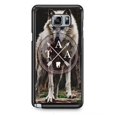 The Amity Affliction Wolf Logo TATUM-10636 Samsung Phonecase Cover Samsung Galaxy Note 2 Note 3 Note 4 Note 5 Note Edge