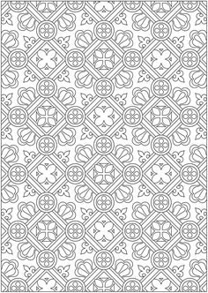 Welcome to Dover Publications From: Creative Haven Ornamental Designs Coloring Book