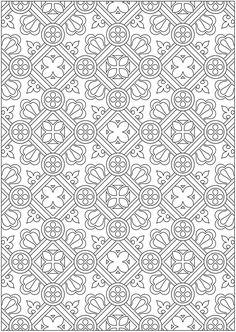 Creative Haven Ornamental Designs Coloring Book Dover Publications