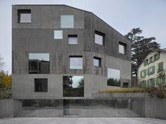 Urban Villa 4 in 1 Beaumont by 2b architectes - Switzerland