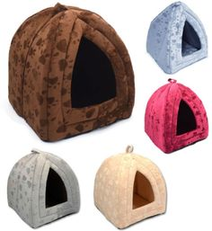 Pet House Igloo Very Warm Insulated Padded Cosy Cave Bed house Dog Cat Kitten. Folds flat for travelling & storage. Approx: Small X X Dog Bike Basket, Pet Dogs, Dog Cat, Kitten Beds, Christmas Gifts For Pets, Cheap Dog Beds, Dog Houses, House Dog, Orthopedic Dog Bed