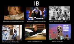 IB: Teaching students how to get by with being as lazy as possible.