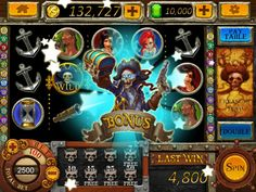 Pirate Slots App by TOPGAME. Casino and Pirate Apps.