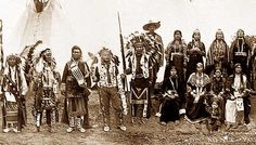 This is an indian tribe called the Nez Perce. We met them at Fort Laramie too.