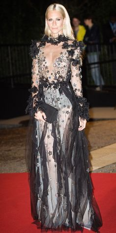 Look of the Day - POPPY DELEVINGNE from InStyle.com
