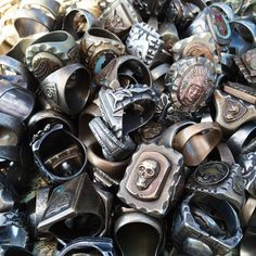 Hell is empty and the Devils are here. — unionvillestockholm: Mexican biker rings from Worn...