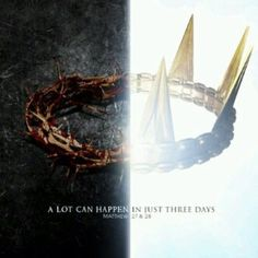 From a crown of thorns to a Kings Crown