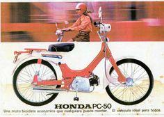 Honda PC 50 still have it. Fun to ride