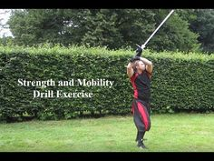 Sword drill: Strength and mobility exercise - YouTube