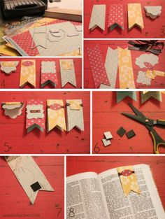 'Magnetic bookmark {tutorial}...!' (via Lolly Jane)