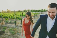 Engagement photos at Mount Palomar winery in Temecula
