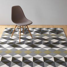 Gandia Blasco Mosaiek Grey Hand Tufted Rug by Javier Tortosa Contemporary Rugs, Modern Rugs, Interior Styling, Interior Design, Hand Tufted Rugs, Rugs In Living Room, Your Space, Healing, Design Inspiration