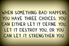 La vida es de decisiones...