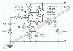 rf receiver to infrared transmitter circuit