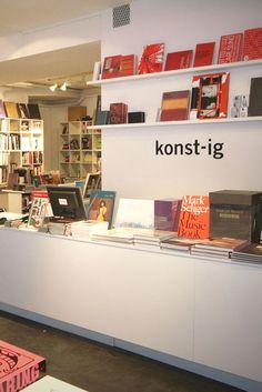 konst-ig bookshop, Stockholm