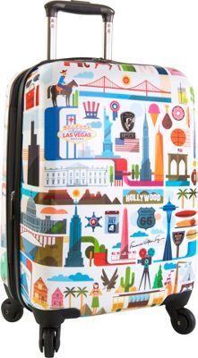 "Heys America USA  21"" Carry-On Spinner Luggage USA - via eBags.com!"