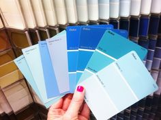 Coastal Living Paint Colors   just love looking at paint names, I think I should have been a paint ...