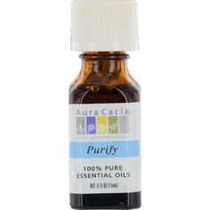 ESSENTIAL OILS AURA CACIA by Aura Cacia PURIFY-ESSENTIAL OIL .5 OZ