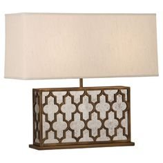 Addison Collection Wide Table Lamp by Robert Abbey
