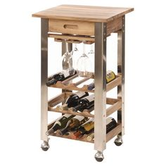 Wine Trolley.