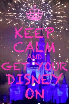 Disney keep calm