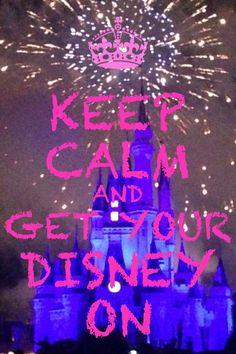 Disney keep calm
