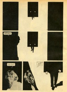 discovering life in comicbooks - Alberto Breccia Comics Story, Bd Comics, Horror Comics, Storyboard, Comics Illustration, Digital Illustration, Comic Books Art, Comic Art, Arte Punk