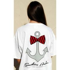 Red and Black Anchor Tee Anybody out there love UGA??