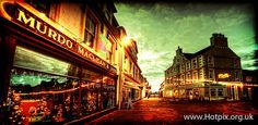 Christmas Looking up to Stornoway town from Cromwell St, Isle Of Lewis, Scotland, UK | Flickr - Photo Sharing!