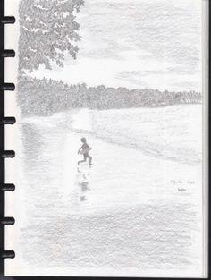 Sketsa Gambar Pensil
