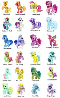 my little pony names and pictures list ��� google