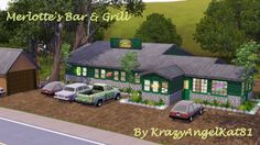 MerlottesBarAndGrill - KrazyAngelKat81's Sims 3 Adventure