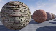 My textures in Unreal Engine 4.7 www.CrazyTextures.com