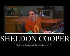 Sheldon hiding from Amy